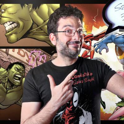 'Masterclass- Dibuja y Crea tu superheroe  por  Salva Espín' – Viernes 19:00-20:30
