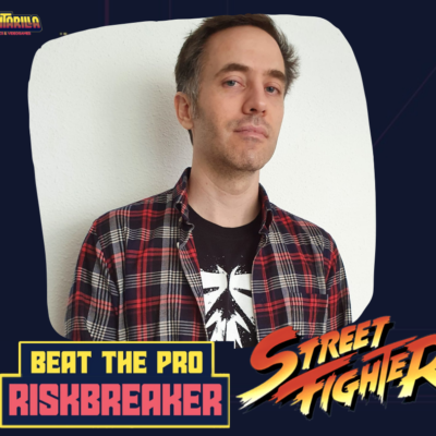 Beat the Pro – STREET FIGHTER V – RISK – VIERNES 29/01/2021 21.30-22.30