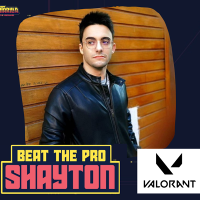 Beat the Pro – VALORANT – SHAYTON – DOMINGO 31/01/2021 19.00-20.00